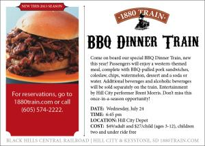 BBQ Train promo eblast