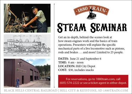 steam seminar promo postcard 2014